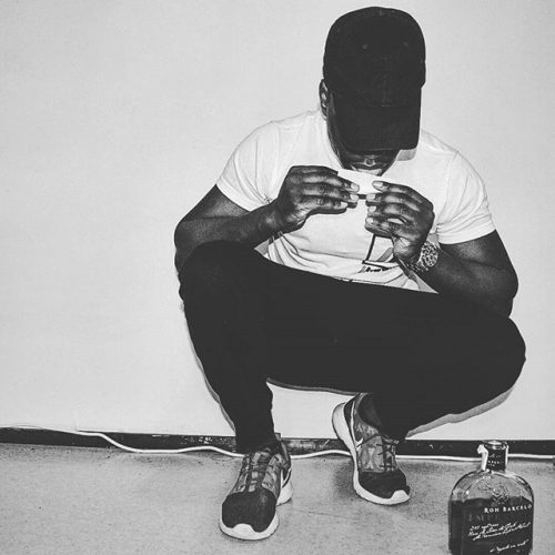 nkenda producer rolling blunted drinking henny